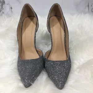 CHARLOTTE RUSSE// Silver Heels // Dressy